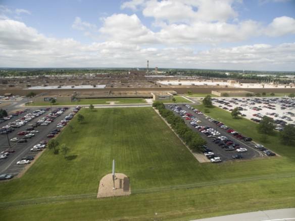 st louis aerial photography and video gm wentzville plant